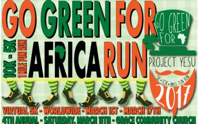 2017 Go Green for Africa St. Patrick's Day Run