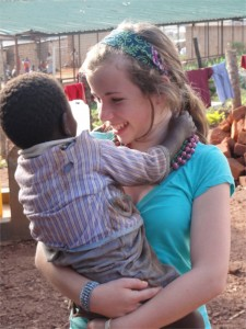 Project Yesu - Mallory in the Acholi Quarter